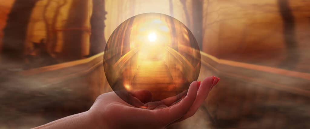 crystal ball dreamscape