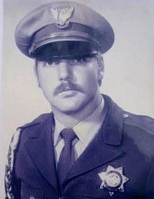 young uniformed Robert Bare